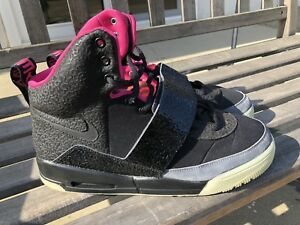 c5d711aa8717d Nike Air Yeezy Blink Black Pink 2009 Size 10.5 100% AUTHENTIC Kanye ...
