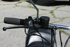 "MOTORCYCLE Master Cylinder Honda CB550 CB750  16mm 5/8"" - MATTE  BLACK"