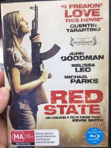 1 of 1 - Red State ex-rental region 4 DVD (2011 Kevin Smith thriller movie)