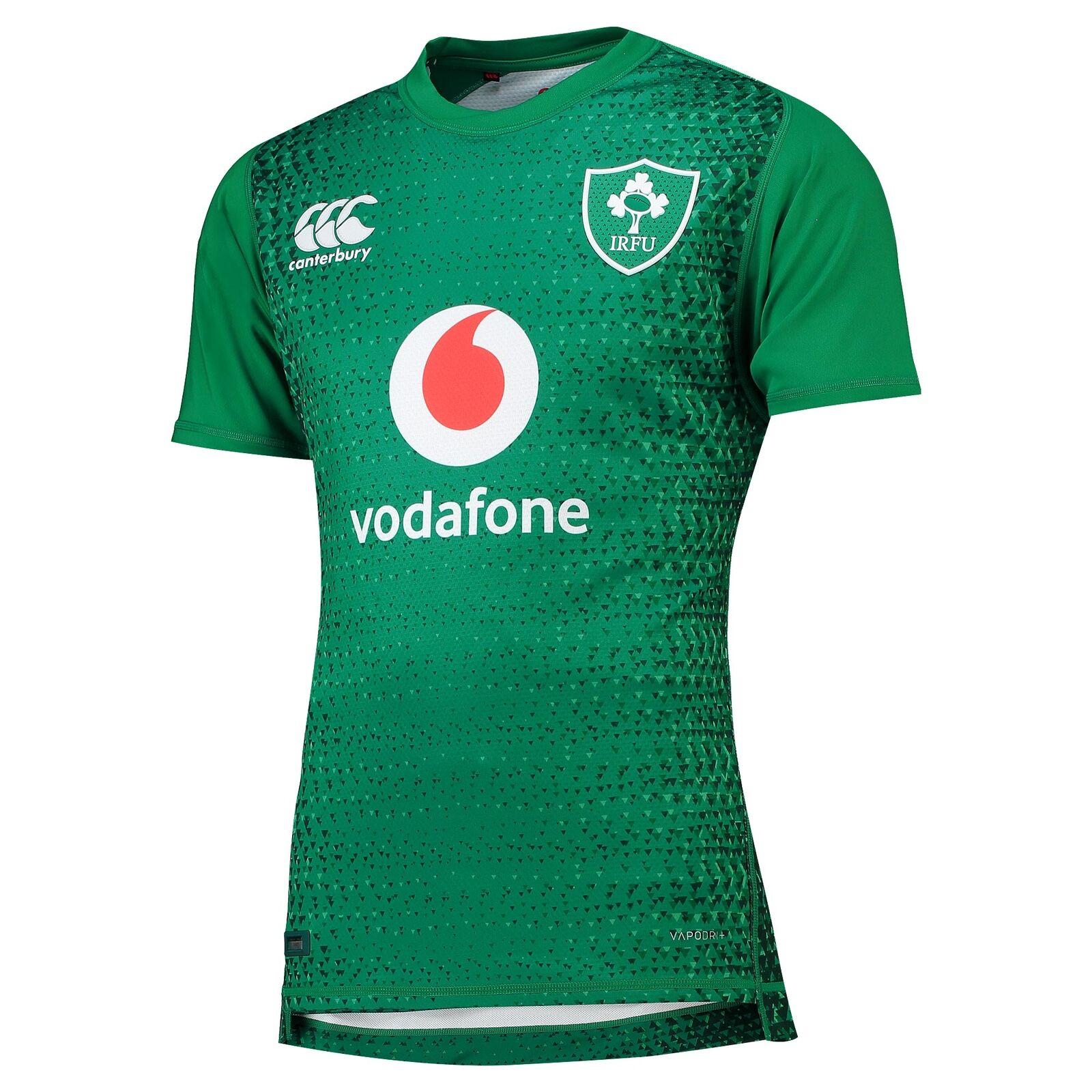 Irland + Heim Test Rugby Trikot Shirt Kurzarm Trainingsshirt 2018 19 Grün Herren       Überlegene Qualität    Elegante und robuste Verpackung    Professionelles Design