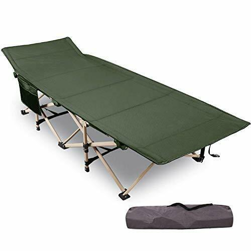 """REDCAMP Folding Camping Beds for adults 28/"""" Extra Wide Heavy Duty"""