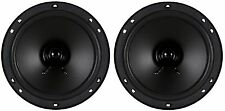 "NEW PAIR (2) High Performance 6-1/2"" 6.5"" Dual Cone Car Speaker Sub Woofer"