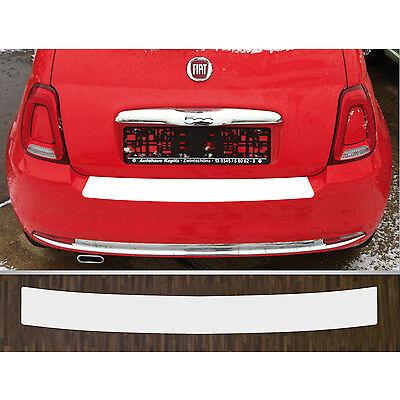 Lackschutzfolie Ladekantenschutz transparent Fiat 500, Facelift ab 2016