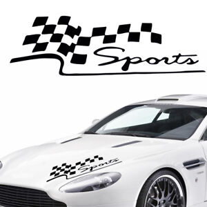 Decal Racing Car Stickers Auto Sport Styling Vinyl Car Body Generic