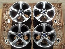 """2013-2017 FORD FUSION 18"""" WHEELS HYPER SILVER STOCK OEM FACTORY RIM 5x108mm DS7C"""