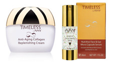 Timeless by Avani Anti-Aging Collagen Replenish & Nutri Face/Eye Micro Cap Serum