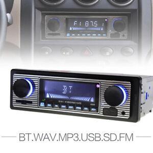 Bluetooth-Car-In-dash-4-Channel-Radio-Player-Stereo-FM-MP3-USB-AUX-Audio-Player