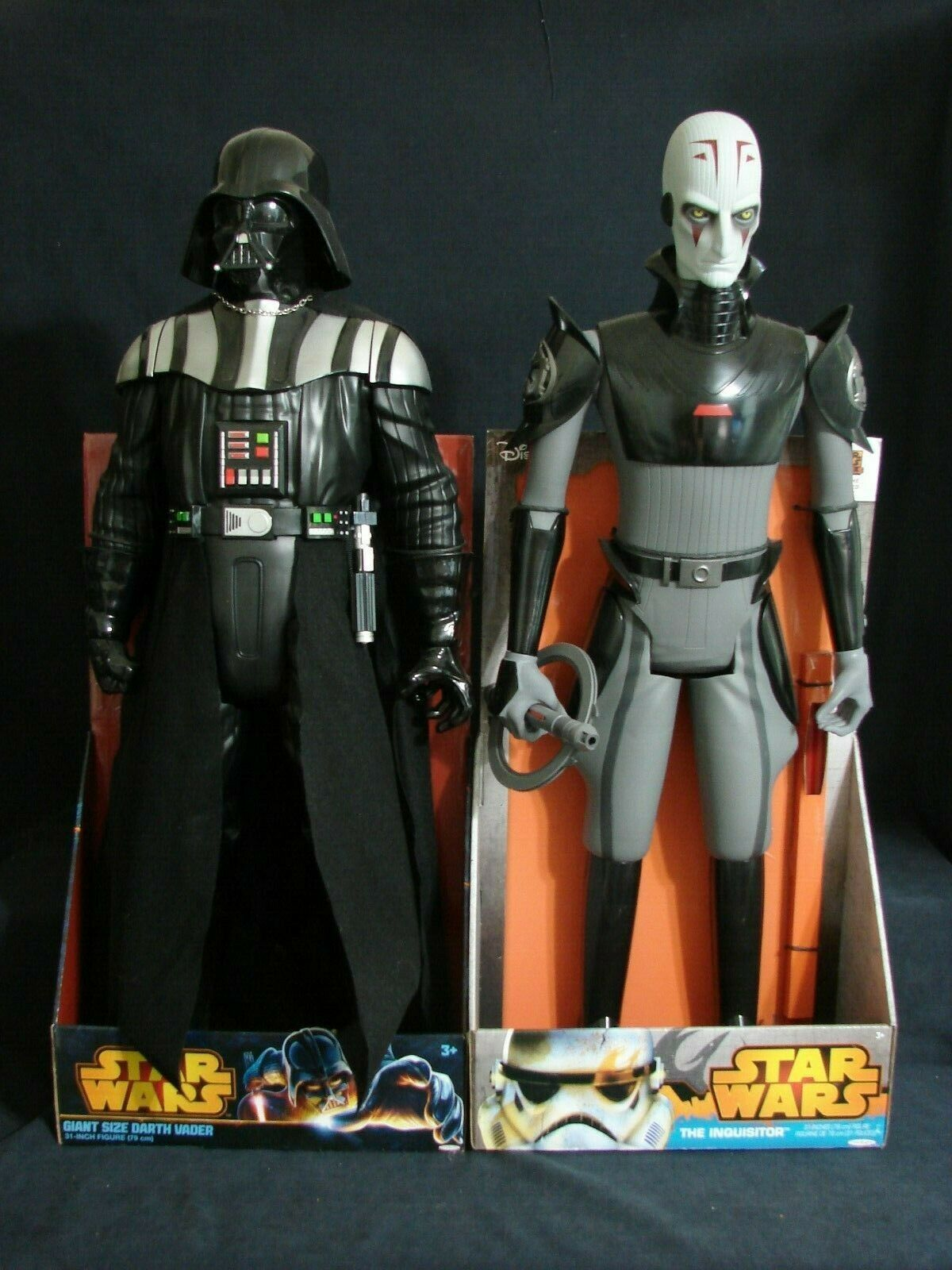 estrella guerras Giant Diessisione 31 Darth Vader & The Inquisitor 31 cifra Lot nuovo gree Fig