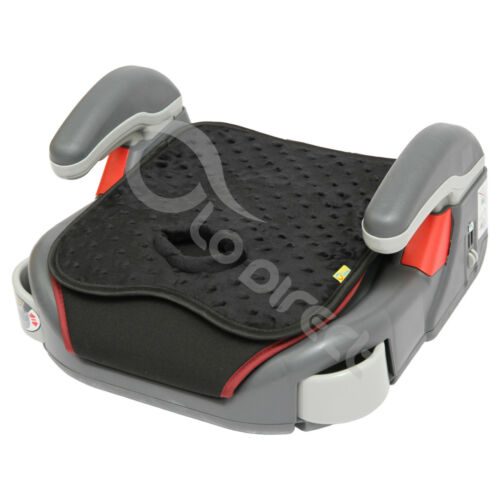 black//minky CAR SEAT Potty Training Pad liner insert WATERPROOF Machine wash