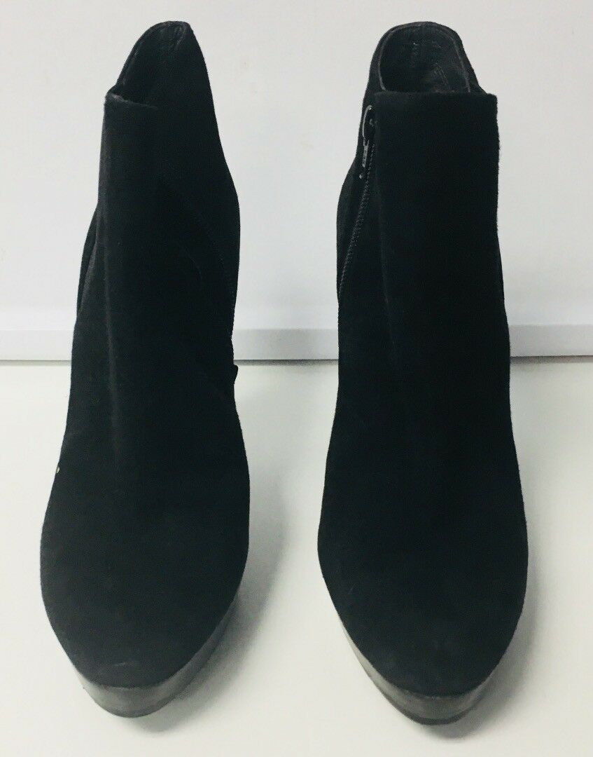 scegli il tuo preferito STUART WEITZMAN Casual Solid nero Suede High Heel Heel Heel avvioies Dimensione 6.5 B4498  negozi al dettaglio