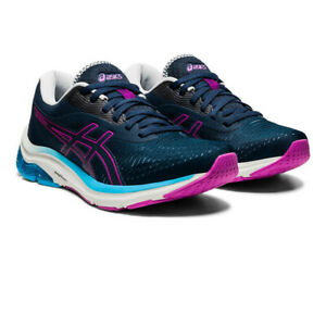 Asics Femme Gel-Pulse 12 Chaussures De Course Baskets Sneakers bleu marine