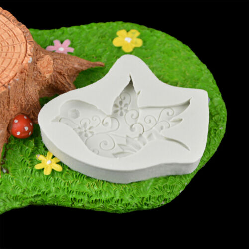 Food-grade dove of peace shape resin molds silicone fondant cake tool ODV