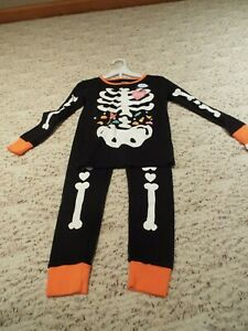 Carter's Girls' 2-piece Glow-in-the-dark Halloween Snug Fit Cotton Pjs 4t Nwt Beneficial To Essential Medulla Sleepwear Clothing, Shoes & Accessories