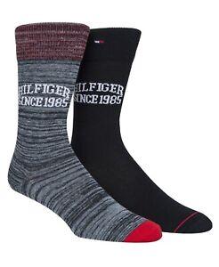 Tommy Hilfiger calcetines Unisex adulto Pack de 2