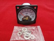 1pc Dc 0 100ma Analog Ammeter Panel Amp Current Meter So45 Cutout 45mm