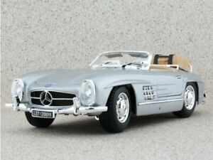 MB Mercedes Benz 300 SL Touring - 1957 - silver - Bburago 1:18