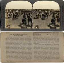 THE 48TH HIGHLANDERS OF TORONTO STEREOVIEW