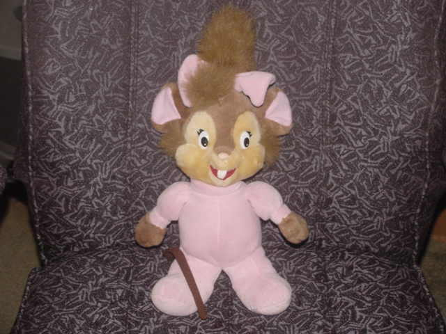 14  Yasha Plush Mouse Toy From Fievel Goes West Adorable