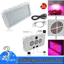 1500W Double Chips Full Spectrum LED Grow Light Kit For Medical Plant Bloom Hot