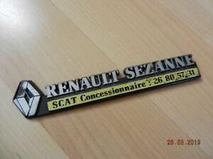 2019 Nouveau Style Monogramme Renault Sezanne Scat Concessionnaire Twingo Clio R19 21 25 Espace