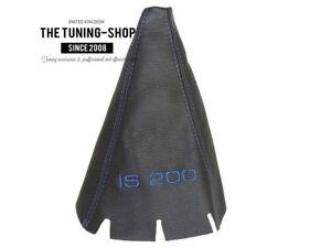 Schaltmanschette schwarz Leder passen Volvo S80  Schaltsack 1998+