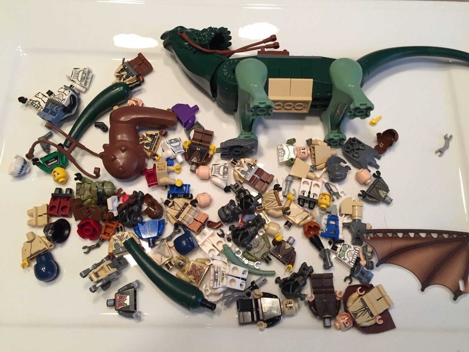 8 Ounces Lego Star Wars Minifig parts Boga 1/2 Pound minifigures Lot N338