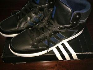 Adidas Varial Mid black/blue 11.5 | eBay