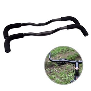 New-Bicycle-Handlebar-Mountain-Road-Bike-Racing-Bullhorn-Bar-25-4-31-8mm-560mm