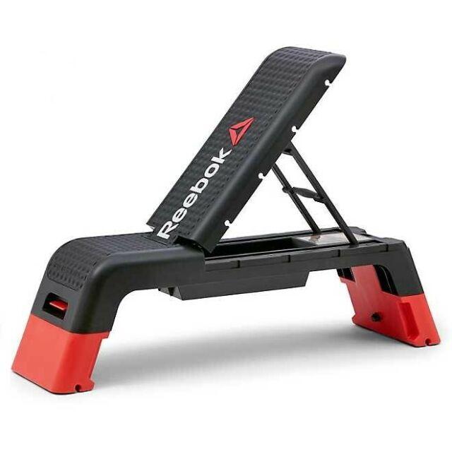 Reebok Professional Deck Workout Bench Black Orange For Sale Online Ebay