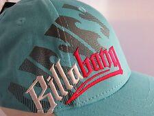 NEW! BILLABONG SEA BLUE BOY'S BASEBALL CAP WITH LOGO100%COTTON