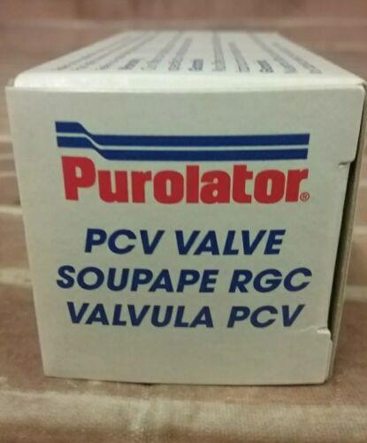 Purolator PCV Valve PV1043