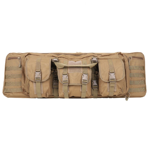 """Tactical Gun Bag Multiple Weapons Carrier Airsoft Air Rifle Case Hunting 36/"""" 42/"""""""