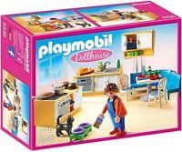 Playmobil 5336 - Einbauküche Mit Sitzecke - Einrichtung Für Haus Inkl. Katze