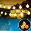 thumbnail 13 - 21FT-Outdoor-String-Lights-30-LED-Solar-Bulb-Patio-Party-Yard-Garden-Wedding-Lot