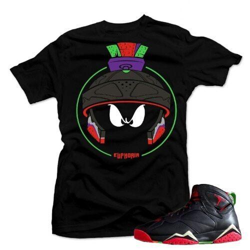 Shirt to match Jordan Retro 7 Marvin the Martians. Cold star Tee