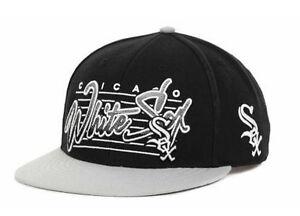 Chicago White Sox MLB Triple Crown Snapback  47 Brand Hat Cap Lid ... faa433d567b