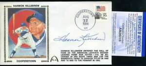 Harmon-Killebrew-PSA-DNA-Coa-Autograph-Hand-Signed-1984-HOF-FDC-Cache