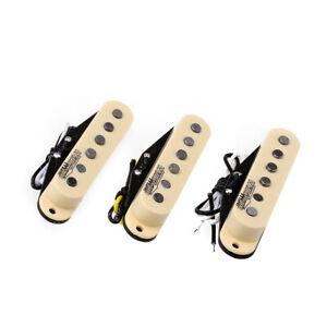 Wilkinson-Cream-Vintage-Tone-Alnico-5-Single-Coil-Pickup-Set-For-Strat-ST-Guitar