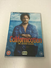 CALIFORNICATION SECOND SEASON DVD ON 3 DISCS REGION 2 PAL SERIES 2 TWO 2ND