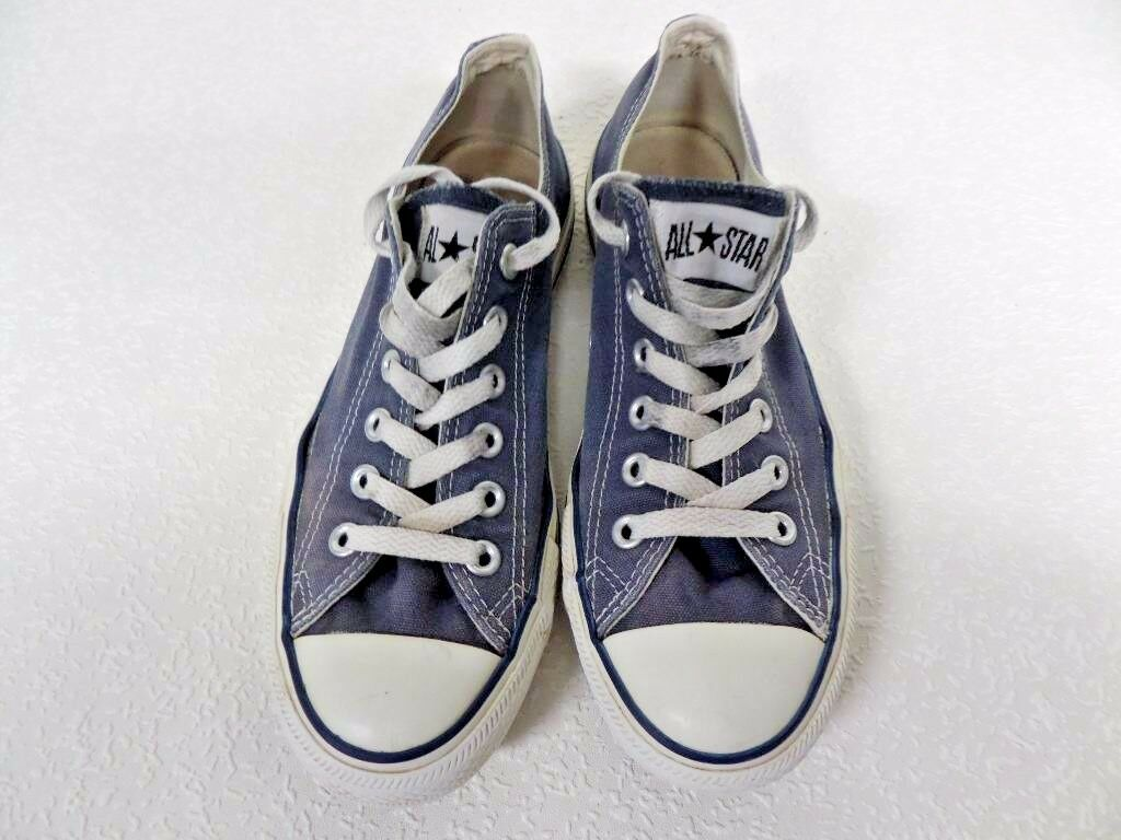 Converse All Star Ox Style Trainers AC016 Unisex Blue Grade B AC016 Trainers 35c71b