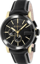 7febea92281 Gucci YA101203 G Chrono Wrist Watch for Men - Black for sale online ...