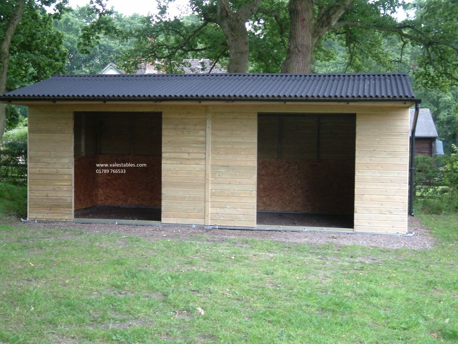 Field Shelter 12x24,  Mobile Field Shelter, Stable, Stables Horses VA005