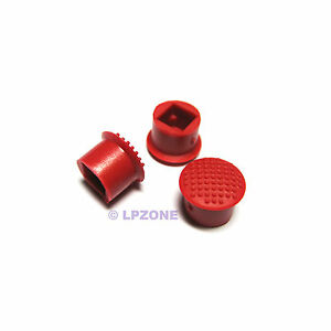 3x-IBM-Thinkpad-Mouse-TrackPoint-red-cap-Soft-Dome