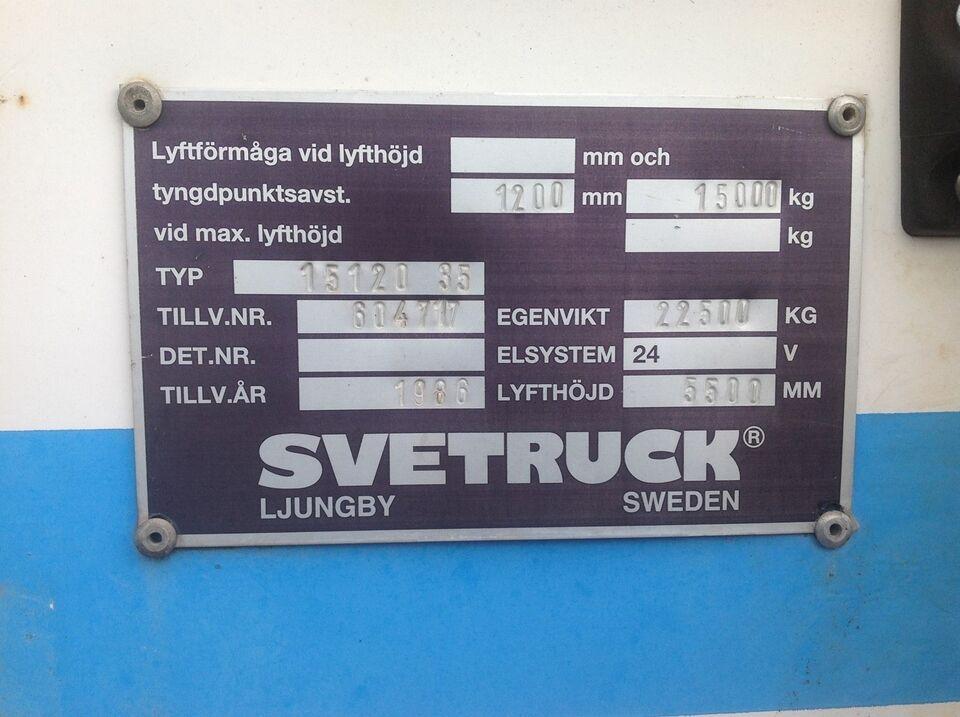 Gaffeltruck, Svetruck 15120-35