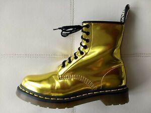 gold dr martens Dr Martens Boots