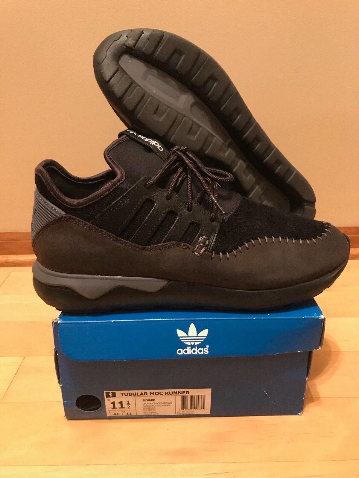 Adidas Tubular Moc Runner Black B24688 Comfortable