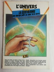 N87 Rivista Universo Okapi N° 248 La Géothermie Una Energia Del Cuore Di Terra