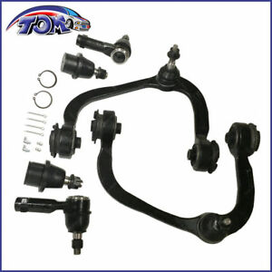 6pcs Front Upper Control Arm Ball Joint Tie Rods For Ford F-150 Lincoln Mark Lt