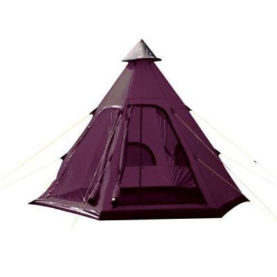 Originale Yellowstone Teepee Tenda Tipi Style 4 Uomo Cuccetta Persona Campeggio Festival Wigwam-mostra Il Titolo Originale