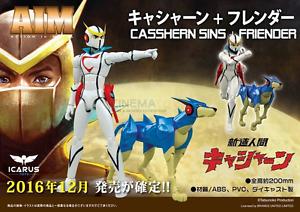 Icarus Toys (ex BU) Casshan Casshern And Friender Friender Friender action in metal Tatsunoko 9893ee